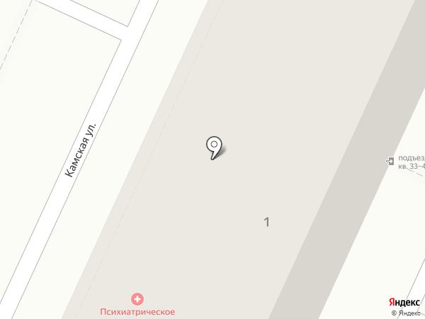 Волгоградская областная клиническая психиатрическая больница №2 на карте Волжского