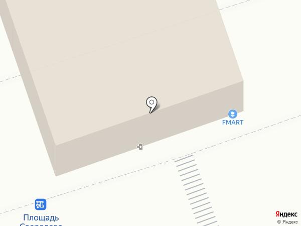 Булка на карте Волжского