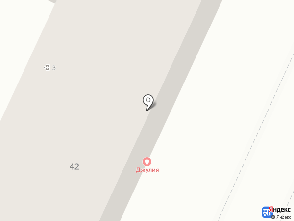 Джулия на карте Волжского