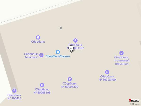 Сбербанк, ПАО на карте Волжского