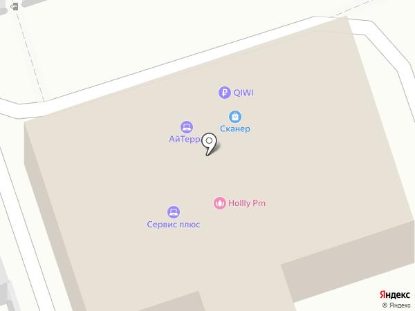 Сканер на карте Волжского