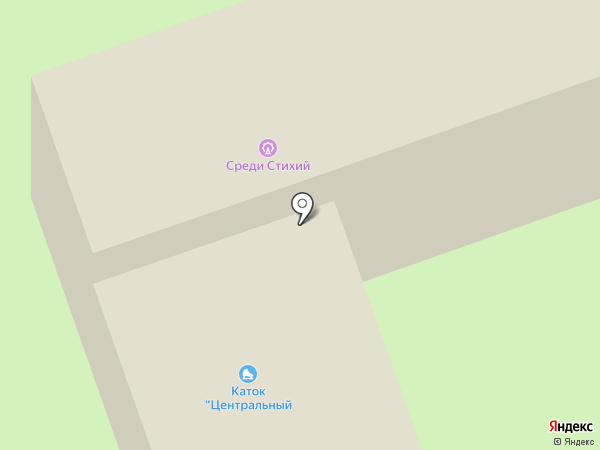 Волжская торгово-промышленная палата на карте Волжского