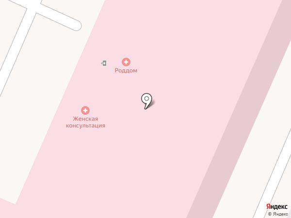 Родильный дом на карте Волжского