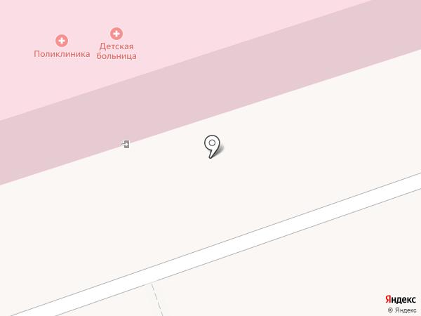 Городская детская больница на карте Волжского