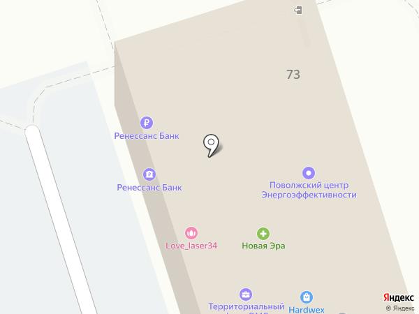 Альянс-ВЕКА на карте Волжского
