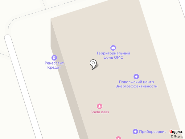 Навигатор на карте Волжского