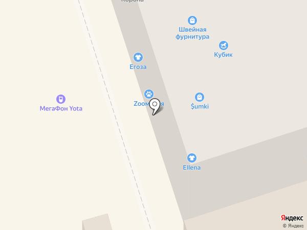Егоза на карте Волжского