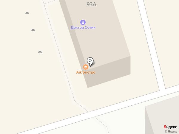 Волжский Лекарь на карте Волжского