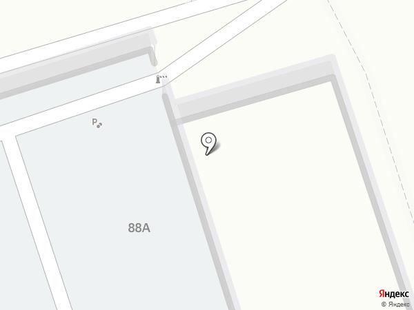 Автостоянка на карте Волжского