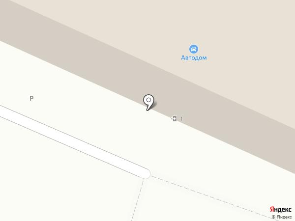 Автомагазин на карте Волжского