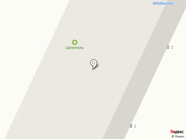 Искра на карте Волжского