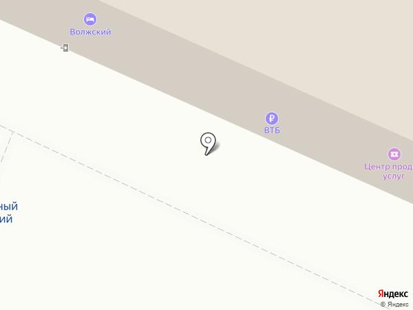 Банкомат, Банк ВТБ 24, ПАО на карте Волжского