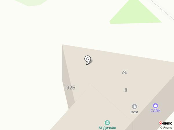 Анна-шторы на карте Волжского