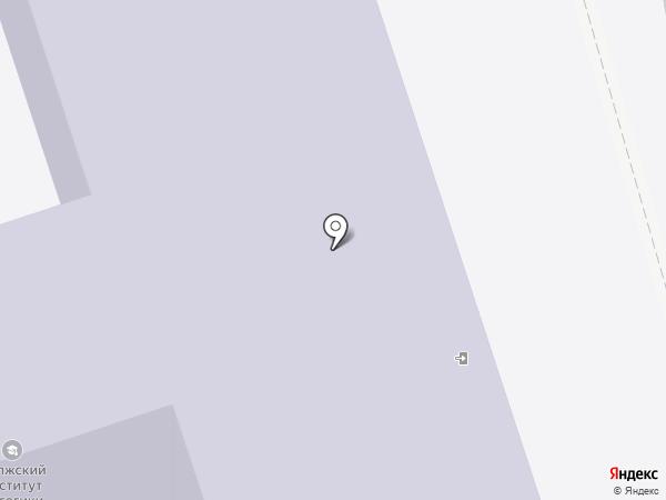 Волжский институт экономики, педагогики и права на карте Волжского