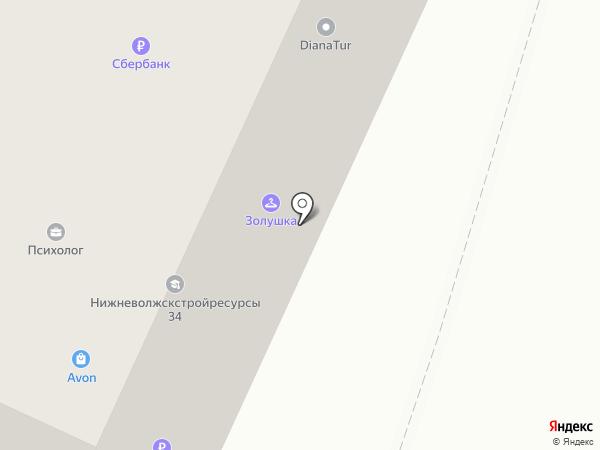 Нижневолжскстройресурсы 34 на карте Волжского