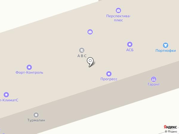 Перспектива-плюс на карте Волжского