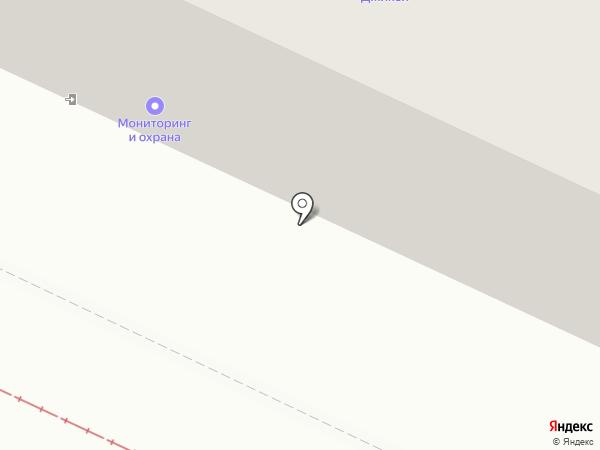 Джикей на карте Волжского