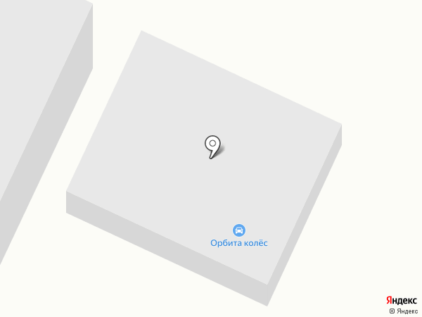 Клаксон-авто на карте Волжского