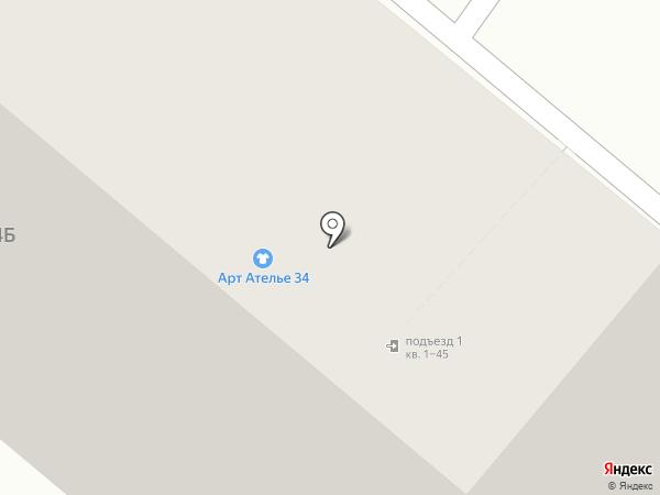 ТУФЕЛЬКА на карте Волжского