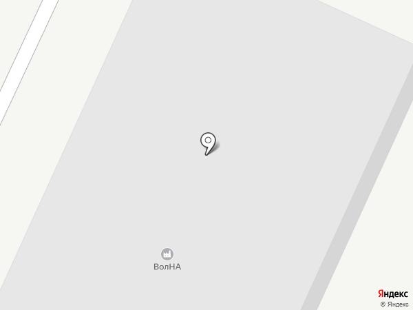 Автопокрытие на карте Волжского