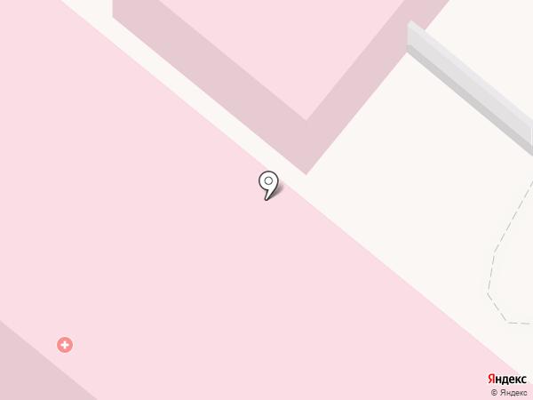 Городская клиническая больница №1 им. С.З. Фишера на карте Волжского