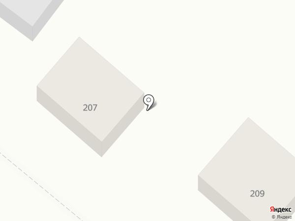 Сервис-Ник на карте Волжского