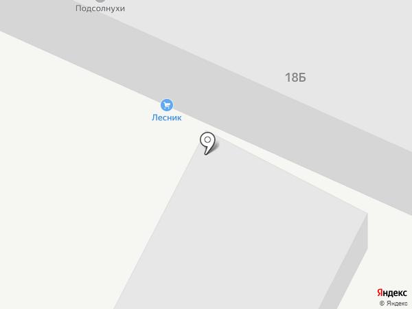 Лесник на карте Волжского