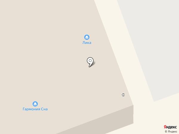 Лика на карте Волжского