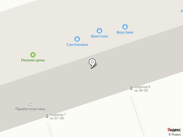 Теплый дом на карте Волжского