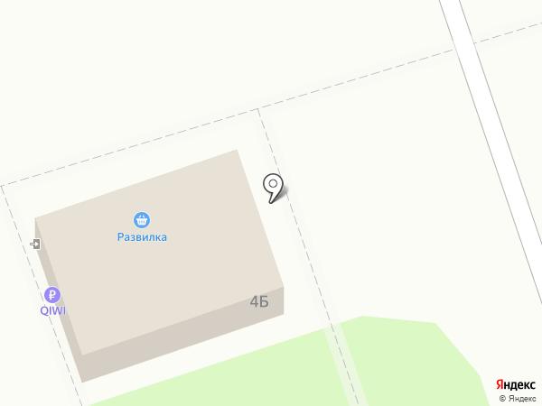 Киви на карте Волжского