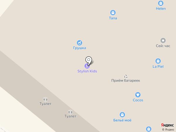 Долорес на карте Волжского