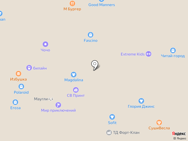 fascino на карте Волжского
