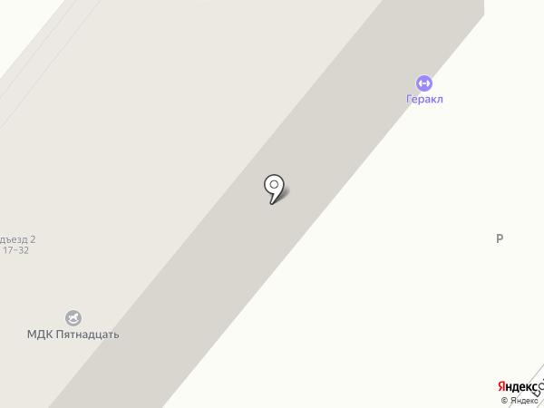 Пятнадцать на карте Волжского