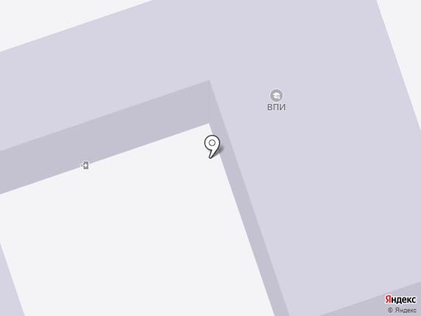 Политехнический лицей на карте Волжского