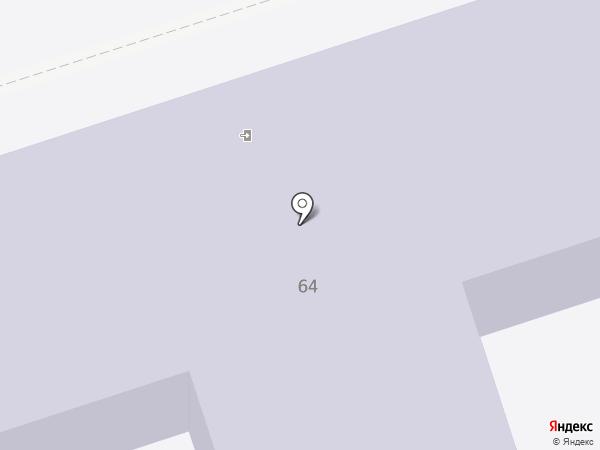 Средняя общеобразовательная школа №24 на карте Волжского