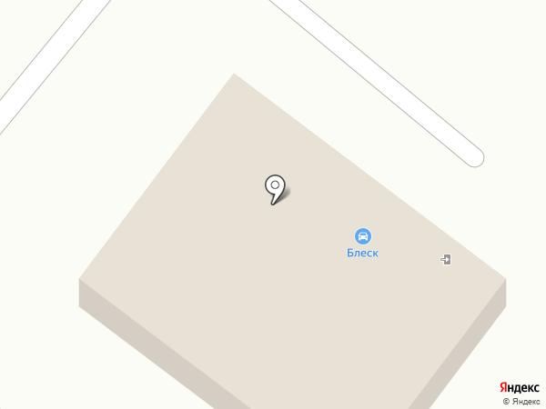 Блеск на карте Волжского