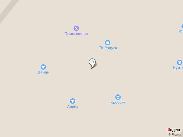 Примадонна на карте Волжского