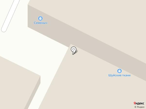 ЭВС на карте Волжского