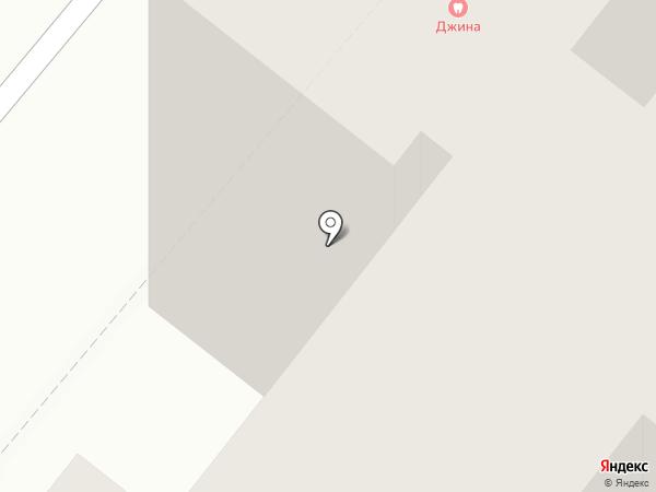 Джина на карте Волжского