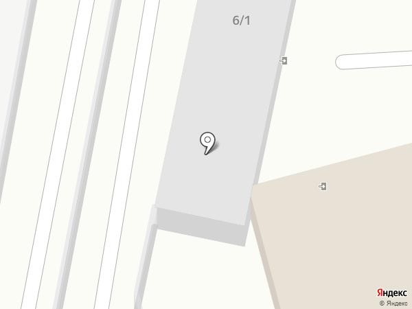 Простартер на карте Волжского