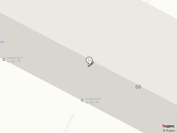 Неготек на карте Волжского