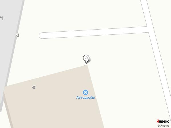 Автодрайв на карте Волжского