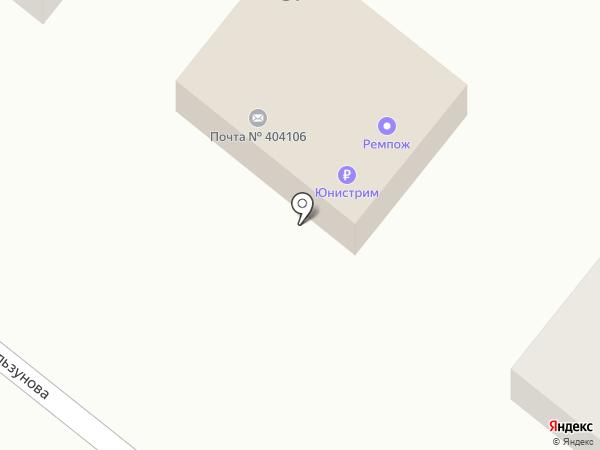 Почтовое отделение №6 на карте Волжского