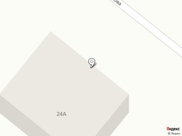 Каутек на карте Волжского