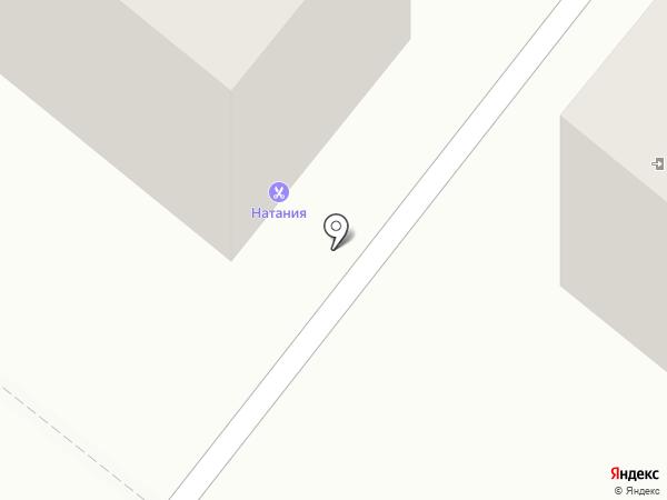 Натания магнит на карте Волжского