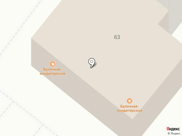 ХЛЕБ на карте Волжского