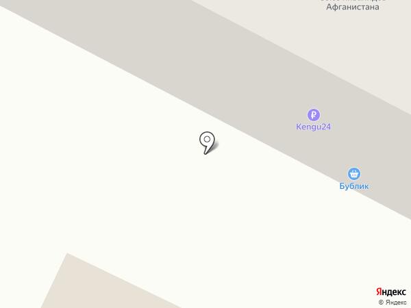 Бублик на карте Волжского