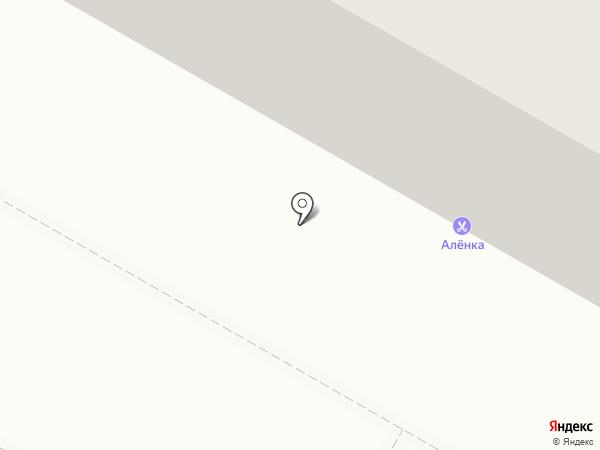 Салон-парикмахерская на карте Волжского
