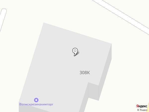 Смешарики на карте Волжского