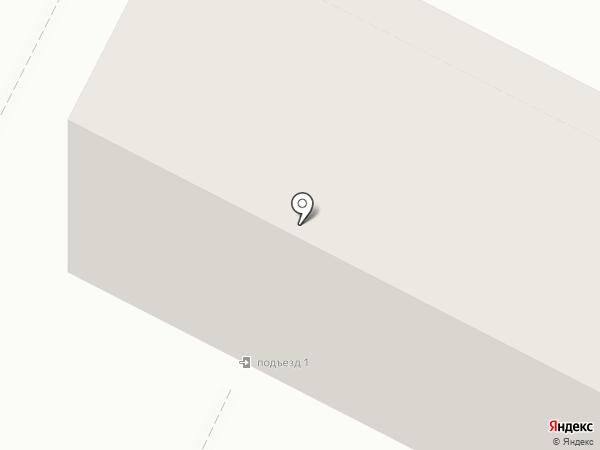 Детская поликлиника №1 на карте Волжского